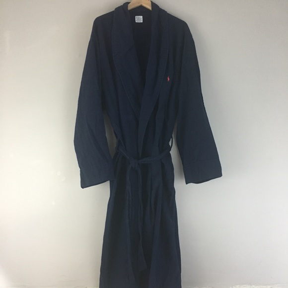 detailing hoard as a rare commodity attractive fashion Ralph Lauren Polo Flannel Robe